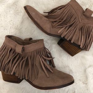 Tasseled Booties